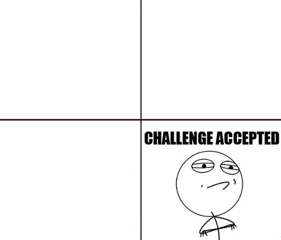 Plantilla de Challenge Accepted