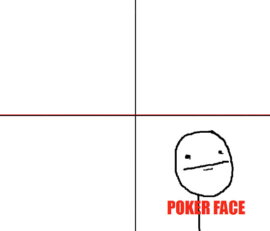 Plantilla de Poker Face